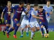 "Chi tiết Sociedad - Barcelona: Suarez, Messi thi nhau  "" tô vẽ ""  (KT)"