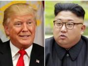 """Tổng thống Trump tức giận khi truyền thông  """" hư cấu """"  quan hệ với ông Kim Jong-un"""