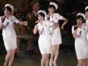 Ban nhạc nữ xinh đẹp do Kim Jong-un tinh tuyển sắp  đổ bộ  HQ