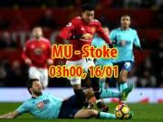 MU - Stoke: 3 điểm chào Sanchez, truy đuổi Man City