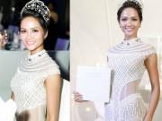 H ' Hen Niê đội vương miện 2,7 tỷ đồng, đẹp như nữ thần với váy trong suốt