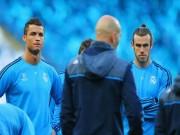 """Real bất ổn: Zidane  yêu chiều  Bale,  """" băng đảng """"  Ronaldo nổi loạn"""
