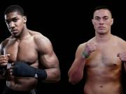 """Tin thể thao HOT 15/1:  """" Vua boxing """"  Joshua bị chê hèn nhát"""
