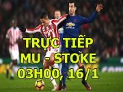 Chi tiết bóng đá MU - Stoke City: Rashford giật gót mừng hụt (KT)