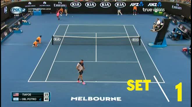 Del Potro - Tiafoe: Hừng hực khí thế (Vòng 1 Australian Open)