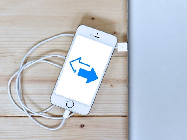 3 bước để chuyển dữ liệu từ iPhone sang máy tính