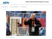 """Trầm trồ U23: Báo Hàn Quốc ví Park Hang Seo là """"phù thủy Hiddink Việt Nam"""""""