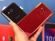HTC U11 EYEs ra mắt với camera selfie kép, mở khóa khuôn mặt, giá bằng nửa iPhone X