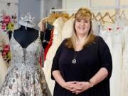 Bỏ túi  hàng tỷ đồng nhờ kinh doanh váy cưới cho cô dâu ngoại cỡ