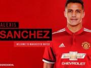 """Sanchez -  """" Bom tấn """"  MU 35 triệu bảng: Chiến binh nghèo vượt khó"""