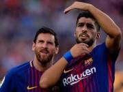 Bàn thắng đẹp V19 Liga: Messi đá phạt, Ronaldo cũng  ngả mũ