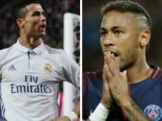 """Ronaldo bỏ  """" tàu đắm """"  Real cho Neymar: Sang PSG lại làm  """" bang chủ """""""