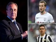"""Real khủng hoảng:  """" Bố già """"  Perez chi 500 triệu euro  """" quét """"  cả châu Âu"""