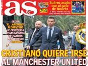 Siêu bom tấn  Ronaldo: MU tạo cú sốc, trả Real 400 triệu euro