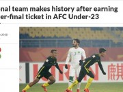 U23 Malaysia gây địa chấn: Báo Malaysia muốn đấu U23 Việt Nam