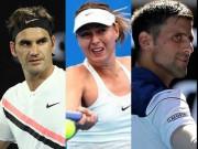 Trực tiếp tennis Australian Open 18/1: Federer,dễ thở,  khó cho Djokovic & Sharapova