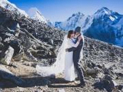Cặp đôi khiến thế giới ngưỡng mộ bởi cùng leo lên đỉnh Everest làm đám cưới