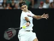 """Kiệt tác Australian Open:  """" Giáo sư """"  Federer tính như thần, 2 đòn cực hiểm"""