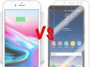 """5  """" vũ khí bí mật """"  mà iPhone 8 Plus phải chào thua Galaxy A8+"""