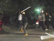 Hai nhóm hỗn chiến, 4 người bị thương nặng