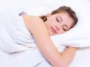 Ngủ đúng cách giúp tăng cường sức khỏe, sắc đẹp