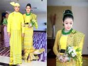 Xôn xao đám cưới trát đầy ngọc lục bảo và kim cương của cô dâu người Myanmar
