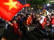 Người Hà Nội đổ xuống đường sau chiến tích của đội tuyển U23 Việt Nam