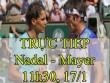 TRỰC TIẾP tennis Nadal - Mayer: Con đường rộng mở (Vòng 2 Australian Open)