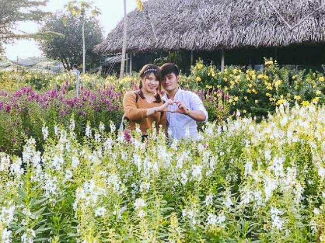 Không thể tin nổi giữa SG có cánh đồng hoa đẹp đến thế!