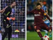 Messi lại gặp ác mộng phạt đền, Barca ôm hận đứt mạch 30 trận bất bại