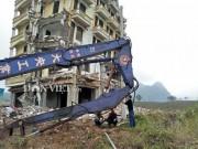 Chi bao nhiêu tiền để đánh sập  ' lâu đài '  của  ' Tàng Keangnam ' ?