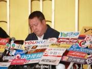 Tăng Chí Vỹ họp báo chớp nhoáng sau hàng loạt bê bối tình dục