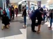 Quỳ gối cầu hôn, cô gái nhận cái kết đau đớn