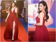 """"""" Bạn gái Noo Phước Thịnh """"  đẹp nhất tuần nhờ váy vừa khoét sâu lại xẻ cao"""