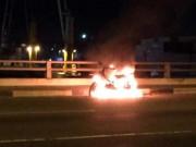 Sau đốt xe máy, thanh niên nhảy cầu Đồng Nai tự tử