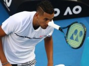 """Kiệt tác Australian Open:  """" Trai hư """"  Kyrgios  & amp; tuyệt chiêu ăn điểm quá đỉnh"""