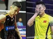"""Lin Dan, Lee Chong Wei thua sốc, cầu lông toàn sao: Đánh dở """"đổ tại số"""""""