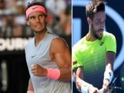 """Trực tiếp tennis Australian Open 19/1: Nadal trên con đường  """" hoa hồng """""""