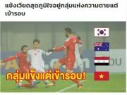 U23 Việt Nam vào tứ kết: Báo chí Thái Lan đưa Quang Hải lên trang nhất