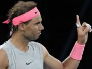 """Tin thể thao HOT 18/1: Nadal gây  """" tai nạn """" , công khai xin lỗi"""