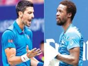 Chi tiết tennis Djokovic - Monfils: Chiến quả xứng đáng (KT)