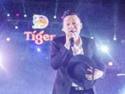 Trời đổ mưa  phụ họa  đúng lúc Lam Trường hát  Mưa phi trường  ở Tiger Remix