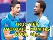 TRỰC TIẾP tennis Djokovic - Monfils: Cho ngày trở lại huy hoàng (Vòng 2 Australian Open)