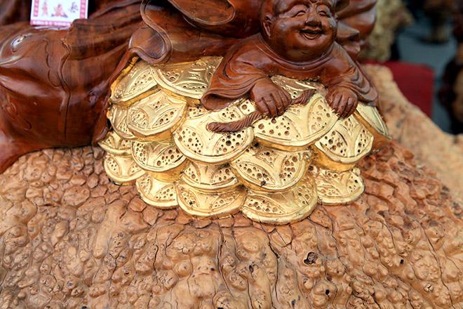 """Sở hữu gỗ lũa quý hình """"rùa hóa rồng"""", chủ nhân ra giá như 600 triệu - 6"""