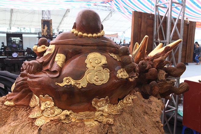 """Sở hữu gỗ lũa quý hình """"rùa hóa rồng"""", chủ nhân ra giá như 600 triệu - 4"""