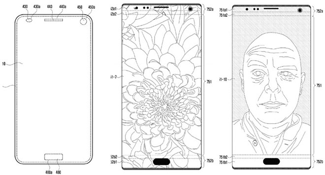 Tương lai smartphone Samsung có camera selfie tàng trữ hiệp ra mùng hình - 2