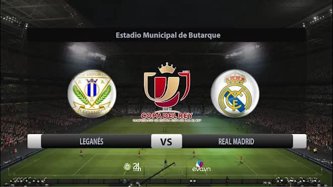 Leganes - Real Madrid: Khoảnh khắc thiên tài, bùng nổ phút 89