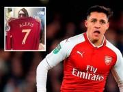 """"""" Bom tấn """"  Sanchez đến MU:  """" Quỷ đỏ """"  bán áo số 7 của siêu sao"""