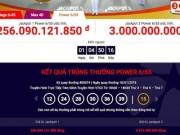 Xổ số Vietlott: Jackpot 1  bứt tốc  lên 256 tỉ, jackpot 2 có chủ ngay mức 6 tỉ