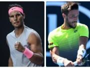 Nadal - Dzumhur: Phô diễn kỹ năng thượng thừa (Vòng 3 Australian Open)